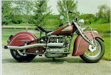 Indian 1265 - Four Model 441 / 39k